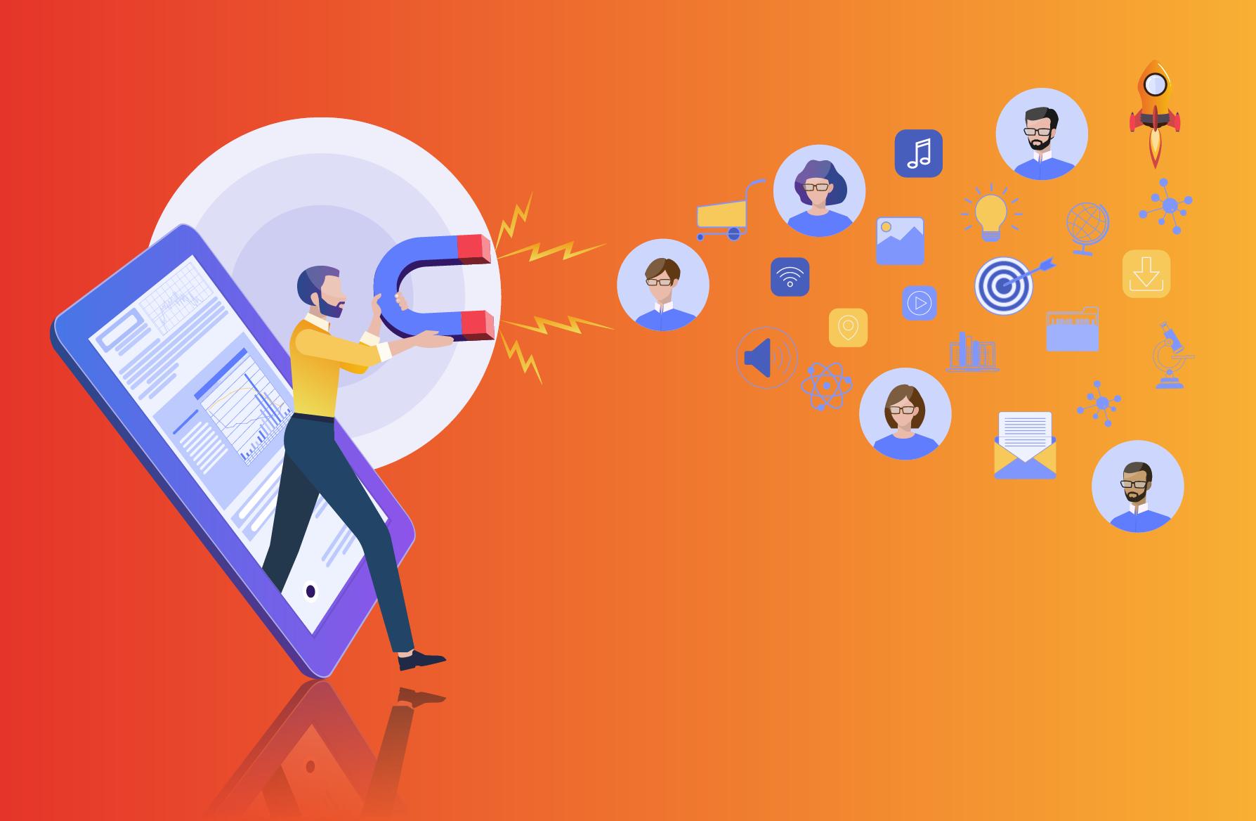 Visuel attirer des prospects qualifiés avec l'inbound marketing